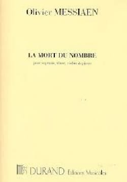 Olivier Messiaen - Number Death - Sheet Music - di-arezzo.com
