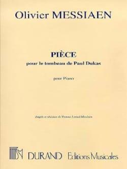 Pièce Pour le Tombeau de Paul Dukas - MESSIAEN - laflutedepan.com
