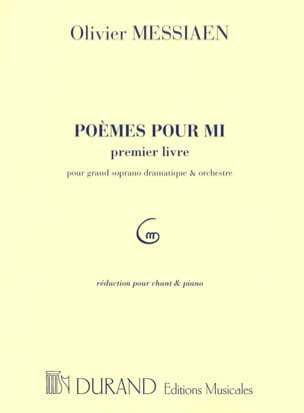 Olivier Messiaen - Poems For Mi. 1st book - Sheet Music - di-arezzo.com