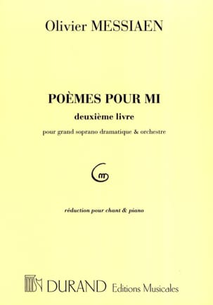 Olivier Messiaen - Poems For Mi 2nd book - Sheet Music - di-arezzo.co.uk