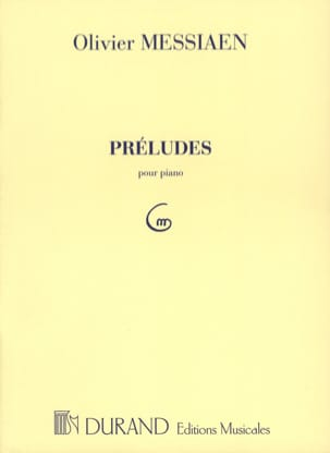 Olivier Messiaen - 8 Préludes. - Partition - di-arezzo.ch