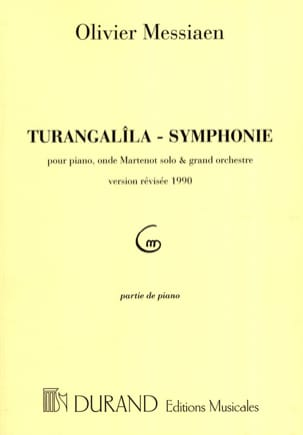Olivier Messiaen - Turangalîla Symphony. Solo Piano - Sheet Music - di-arezzo.co.uk
