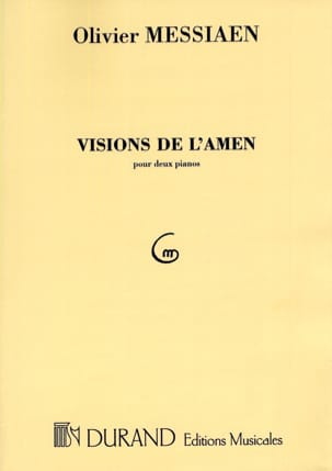 Olivier Messiaen - Visions de l' Amen. 2 Pianos - Partition - di-arezzo.fr
