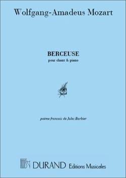 Berceuse. en français MOZART Partition Mélodies - laflutedepan