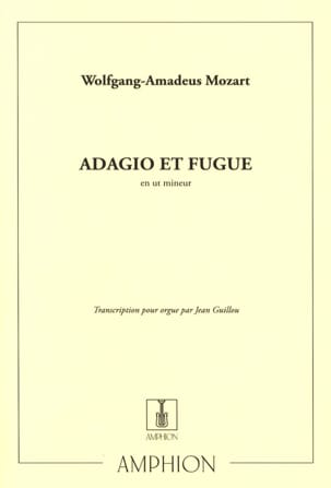 MOZART - Adagio and Fugue In C Minor K 546 - Sheet Music - di-arezzo.co.uk
