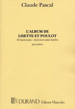 Claude Pascal - El álbum de Lisette y Poulot - Partitura - di-arezzo.es