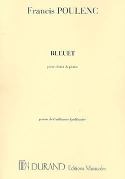 Francis Poulenc - cornflower - Sheet Music - di-arezzo.co.uk