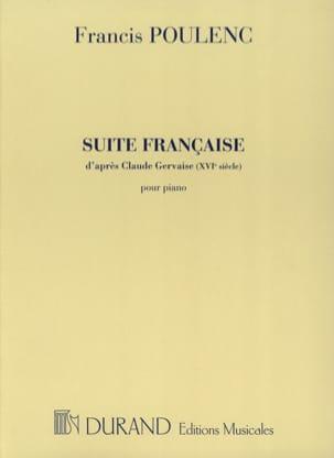 Francis Poulenc - Suite Française - Partition - di-arezzo.fr