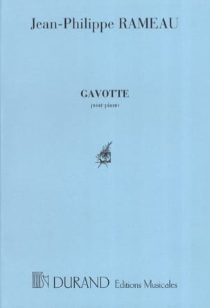Jean-Philippe Rameau - Gavotte Varied - Sheet Music - di-arezzo.com