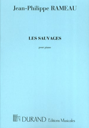 Jean-Philippe Rameau - The Savages - Sheet Music - di-arezzo.com