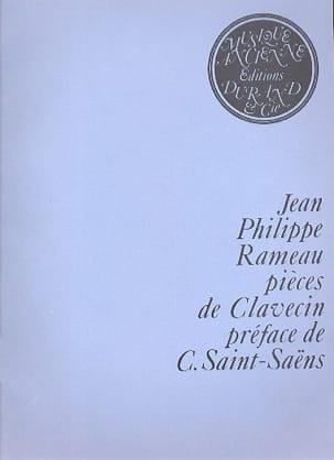 Pièces de Clavecin - Jean-Philippe Rameau - laflutedepan.com