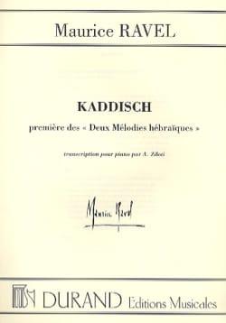 Maurice Ravel - Kaddisch - Partition - di-arezzo.fr