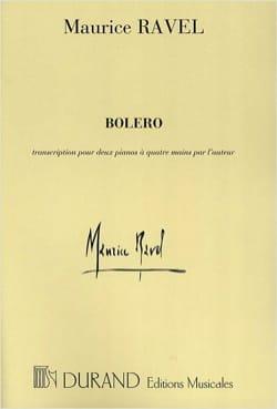 Maurice Ravel - Bolero. 2 pianos - Sheet Music - di-arezzo.co.uk