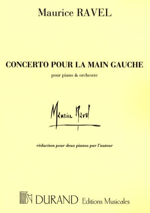 Maurice Ravel - Concerto for the left hand. 2 pianos - Sheet Music - di-arezzo.com