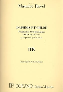 Maurice Ravel - Daphnis and Chloé 1st Series. 4 Hands Or 2 Pianos. - Sheet Music - di-arezzo.co.uk