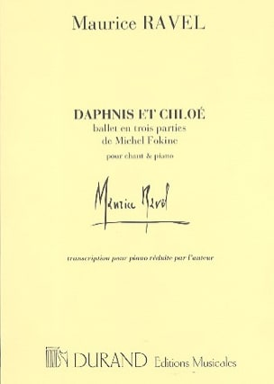 Maurice Ravel - Daphnis and Chloe. Ballet - Sheet Music - di-arezzo.com