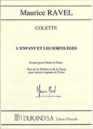 Duo De la Théière et De la Tasse - Maurice Ravel - laflutedepan.com