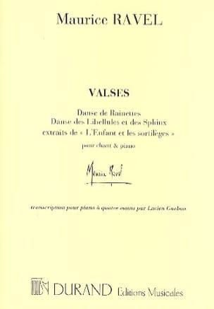 Maurice Ravel - Valses de L'Enfant et les Sortilèges. 4 Mains - Partition - di-arezzo.fr