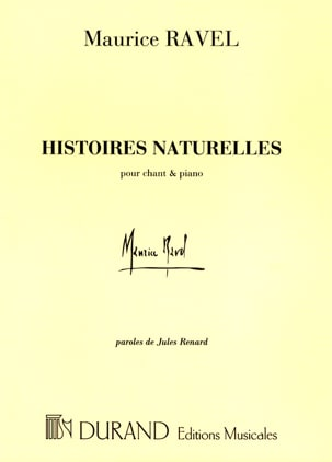 Maurice Ravel - Natural Stories - Sheet Music - di-arezzo.co.uk