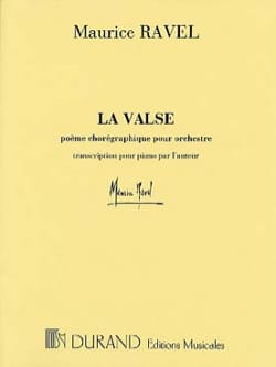 Maurice Ravel - La Valse. - Partition - di-arezzo.fr