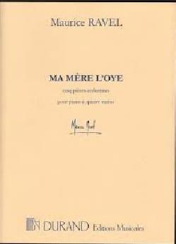 Ma Mère L'oye. 2 Pianos - Maurice Ravel - Partition - laflutedepan.com
