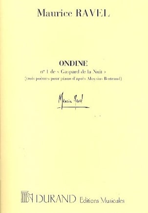 Maurice Ravel - Ondine - Sheet Music - di-arezzo.co.uk