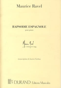 Maurice Ravel - Spanish Rhapsody - Sheet Music - di-arezzo.com