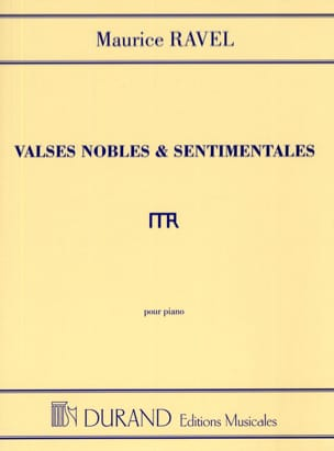 Maurice Ravel - Noble and Sentimental Waltzes - Sheet Music - di-arezzo.co.uk