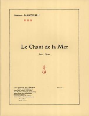 Le Chant de la Mer - Gustave Samazeuilh - Partition - laflutedepan.com
