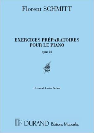 Alois Schmitt - Exercices Préparatoires. Opus 16 - Partition - di-arezzo.fr