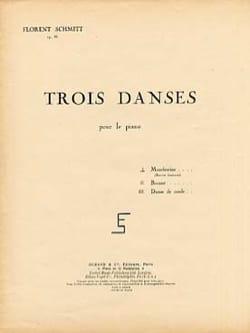 Montferrine op. 86-1 Florent Schmitt Partition Piano - laflutedepan