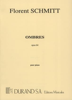 Florent Schmitt - Ombres Opus 64 - Sheet Music - di-arezzo.co.uk