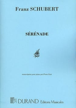 SCHUBERT - Serenade - Partition - di-arezzo.co.uk
