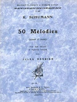 SCHUMANN - 50 melodies. Aloud - Sheet Music - di-arezzo.co.uk