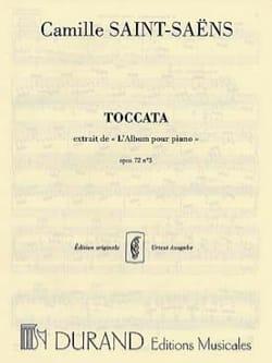 Camille Saint-Saëns - Toccata Opus 72 N° 3 - Partition - di-arezzo.fr