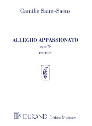 Camille Saint-Saëns - Allegro Appassionato Opus 70 - Sheet Music - di-arezzo.co.uk