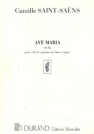 Ave Maria SAINT-SAËNS Partition laflutedepan