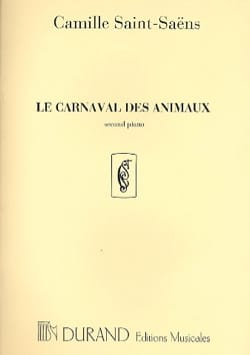 Camille Saint-Saëns - Carnival of Animals 2nd Piano Solo Orchestra. - Partitura - di-arezzo.es