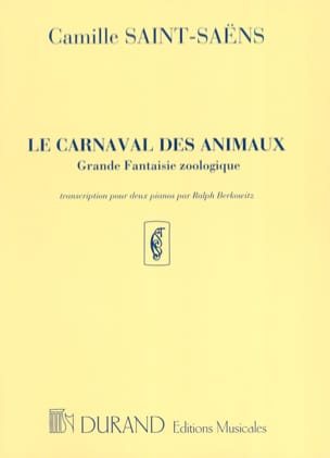 Camille Saint-Saëns - Carnival of the Animals. 2 Pianos - Sheet Music - di-arezzo.co.uk