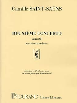 Camille Saint-Saëns - Piano Concerto No. 2 Opus 22 - Sheet Music - di-arezzo.co.uk