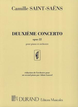 Camille Saint-Saëns - Concierto para piano n.º 2 Opus 22 - Partitura - di-arezzo.es