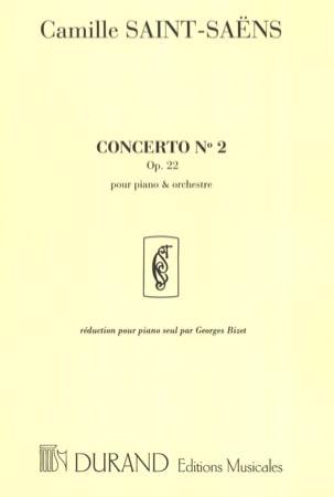 Camille Saint-Saëns - Concerto pour piano op. 22 - Partition - di-arezzo.fr