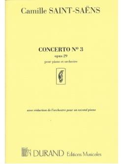 Camille Saint-Saëns - Concerto pour piano n° 3 Opus 29 - Partition - di-arezzo.fr