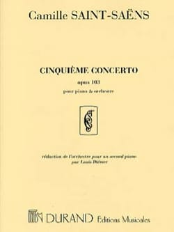 Camille Saint-Saëns - Piano Concerto No. 5 Opus 103 - Sheet Music - di-arezzo.co.uk