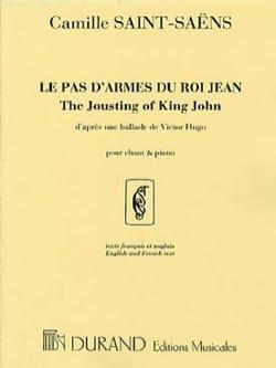 Camille Saint-Saëns - Die Waffe von König John. Mittlere Stimme - Noten - di-arezzo.de