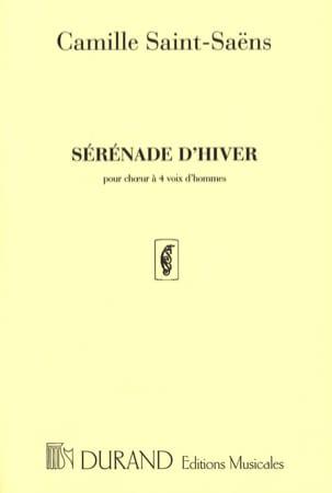 Camille Saint-Saëns - Winter serenade - Sheet Music - di-arezzo.com