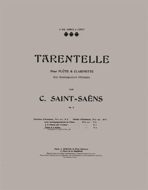 Camille Saint-Saëns - Tarentelle 4 Hands - Sheet Music - di-arezzo.co.uk