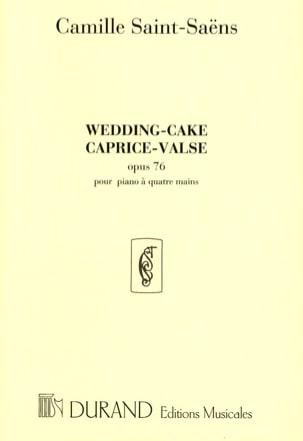 Wedding-Cake op. 76. 4 Mains SAINT-SAËNS Partition laflutedepan