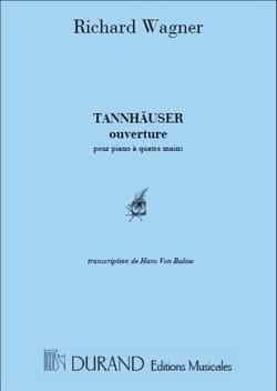 Ouverture de Tannhauser. 4 Mains WAGNER Partition Piano - laflutedepan
