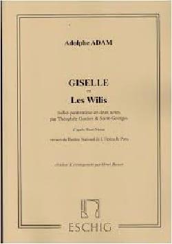 Giselle. Ballet - Adolphe Adam - Partition - Piano - laflutedepan.com